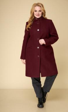 Coat BelElStyle 786 bordo koshemir