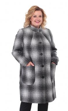 Coat BelElStyle 786 seryj kl