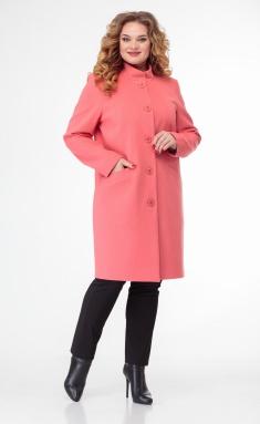 Coat BelElStyle 786 rozovyj