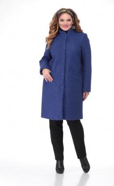 Coat BelElStyle 786 sinij