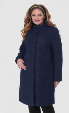 Coat BelElStyle 786 temno-sinij