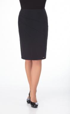 Skirt Elite Moda 3493-1 chernyj