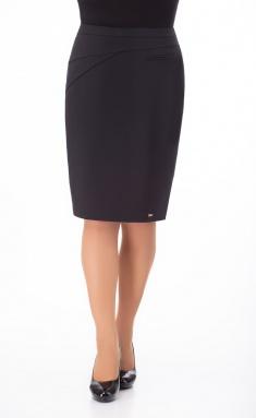 Skirt Elite Moda 3503-1 chernyj