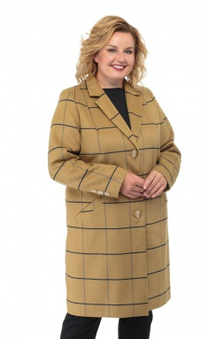 Coat BelElStyle 789 kletka