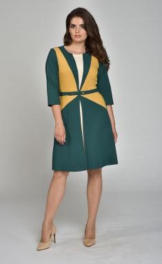 Dress Lady Style Classic Outlet 812 izumrud