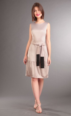 Dress IVA 0820 bezh