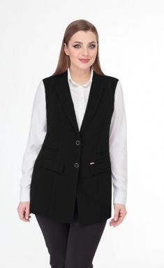 Waistcoat Elite Moda 7001 chern