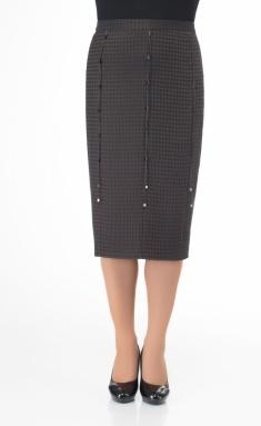 Skirt Elite Moda 3571 korichn