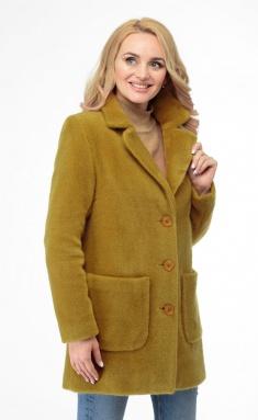 Coat BelElStyle 825 gorchica