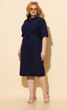 Dress BelElStyle 833 sinij