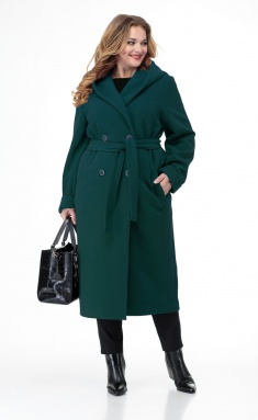 Coat BelElStyle 838 izumrud