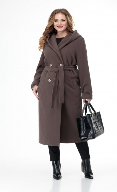 Coat BelElStyle 838 korich