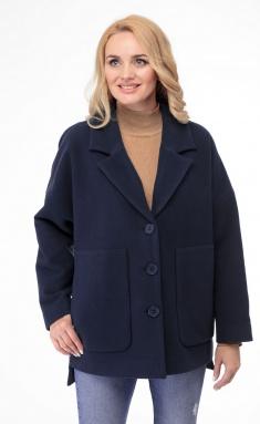 Coat BelElStyle 841 sinij