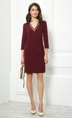 Dress AYZE 888 marsala