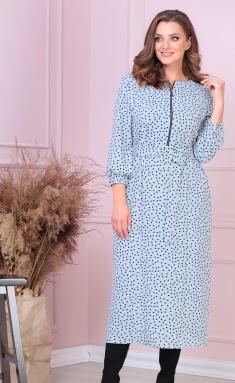 Dress Anastasia MAK 903 sero-gol
