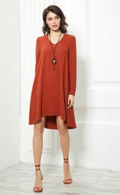 Dress AYZE 913 kirpichnyj