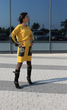 Dress Amori 9132 zhelt 164