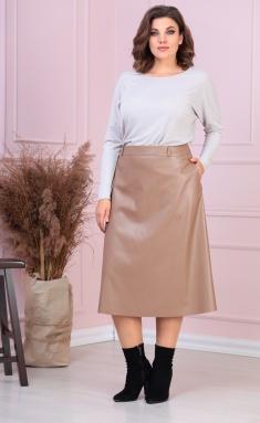 Skirt Anastasia MAK 918 yubka bezh