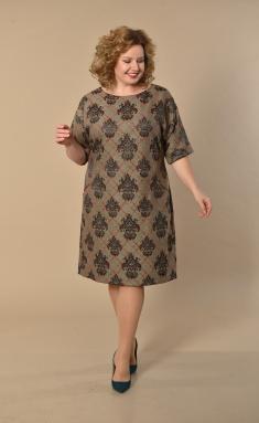 Dress Lady Style Classic 926 bezh+chern