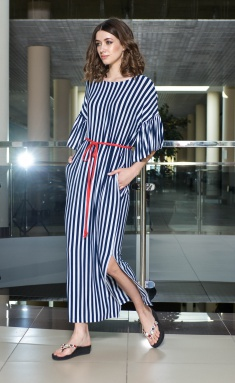 Dress Amori 9387 poloska 164