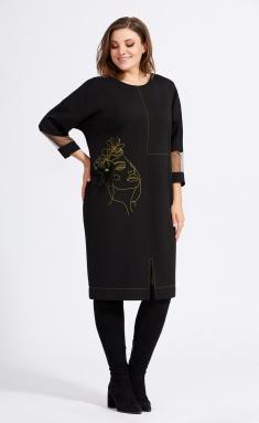 Dress Milora 942-2 zheltyj