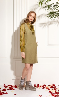 Dress Amori 9460 oliv 170