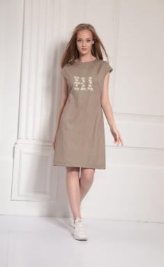 Dress Amori 9483 164 bezh
