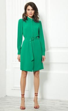 Dress AYZE 957 zelenyj