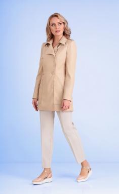 Dress Andrea Fashion AF-108 bezh