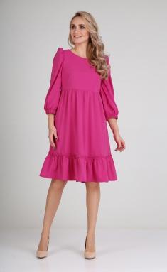 Dress Andrea Fashion AF-116 fuksiya