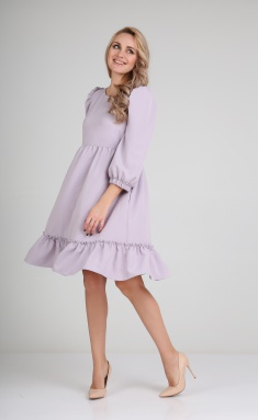 Dress Andrea Fashion AF-116 lavanda