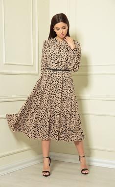 Dress Andrea Fashion AF-123 karamel #1