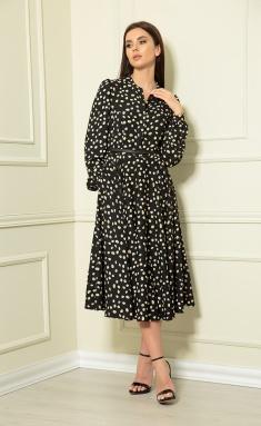 Dress Andrea Fashion AF-123 chern