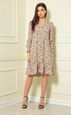 Dress Andrea Fashion AF-124 karamel #2