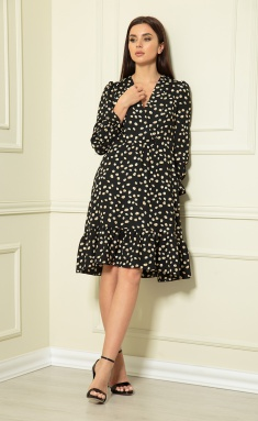 Dress Andrea Fashion AF-124 chern