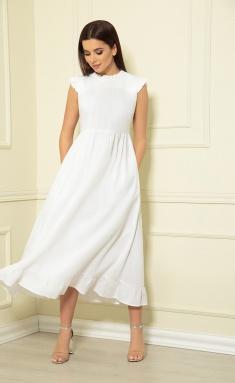 Dress Sale AF-133/2 belyj