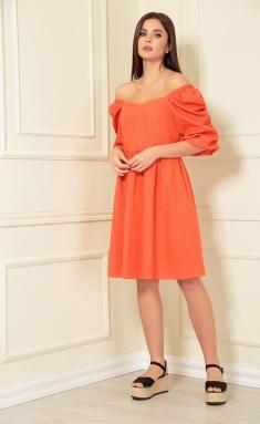 Dress Andrea Fashion AF-141/6 oranzh