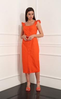 Dress Sale AF-145/4 oranzh
