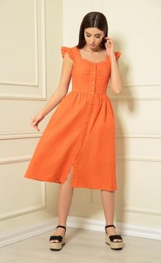 Dress Andrea Fashion AF-147/4 oranzh