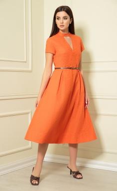 Dress Andrea Fashion AF-148/4 oranzh