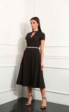 Dress Andrea Fashion AF-148/6 chern