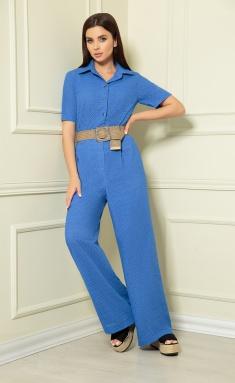 Overall Andrea Fashion AF-149/1 vasilek