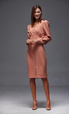 Dress Andrea Fashion AF-165 persik