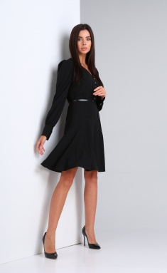 Dress Andrea Fashion AF-168 chyornyj