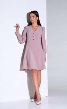 Dress Andrea Fashion AF-168 rozovyj
