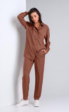Set Andrea Fashion AF-169 korichnevyj