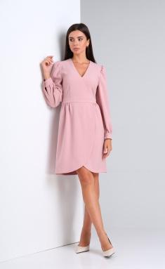 Dress Andrea Fashion AF-171 rozovyj