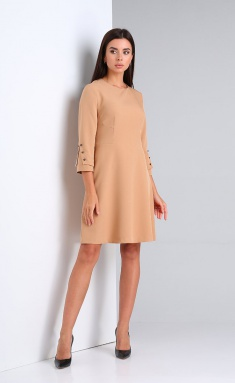 Dress Andrea Fashion AF-172 bezh