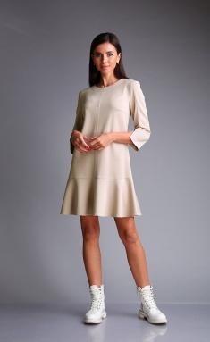 Dress Andrea Fashion AF-173 kremovyj