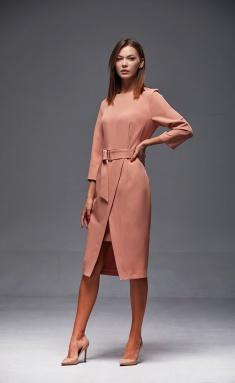 Dress Andrea Fashion AF-175 persik